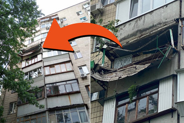 Balkon reißt ab: Erdbeeren sind schuld!