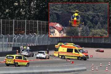 Motorrad-Crash auf Sachsenring: Biker lebensbedrohlich verletzt