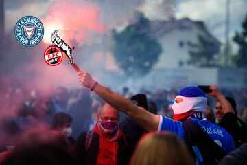 Mit Fans? Holstein Kiel hofft auf Unterstützung im Rückspiel gegen den 1. FC Köln