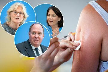 Politiker streiten um neue Corona-Maßnahmen - Auch Impfpflicht Thema