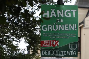 """Gericht verbietet einstweilig Plakate """"Hängt die Grünen"""" in Bayern"""