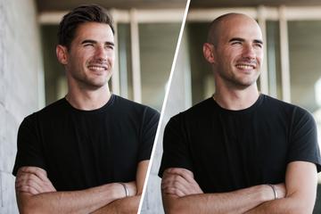 Tinder-Test zeigt: So kommen Männer mit Glatze beim Online-Dating wirklich an!