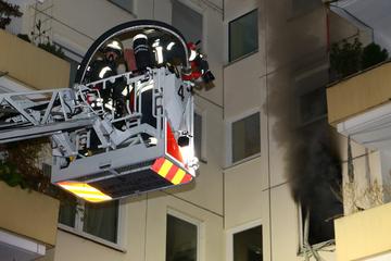 Stuttgart: Brand in Stuttgart-Weilimdorf: Feuerwehr rettet 63-Jährigen
