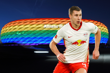 Bunte Allianz-Arena beim Spiel Deutschland-Ungarn: Das sagt RB Leipzigs Willi Orban dazu