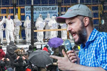 """""""Chemnitz steht auf"""": Nun auch mit Rechts-Extremisten"""