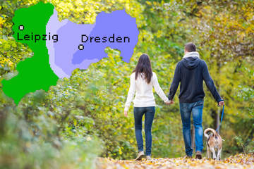 Erst kalt und wolkig, dann warm und stürmisch: So startet Sachsen in den Herbst
