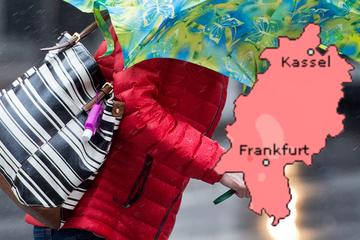 Unwetter-Gefahr am Donnerstag in Frankfurt und Hessen: Schwere Sturmböen und Gewitter