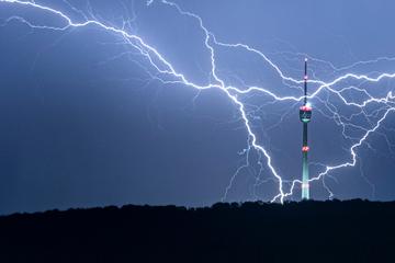 Starkregen und Gewitter: Jetzt wird's ungemütlich bei uns im Ländle!
