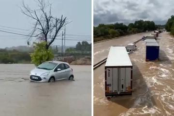 Chaos nach Unwettern in Frankreich: Straßen überflutet, Campingplatz evakuiert