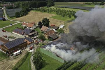 Mehr als vier Millionen Euro Schaden nach Bränden