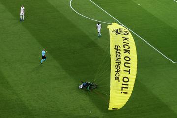 München: Nach Greenpeace-Aktion: 42-jähriger Getroffener weiter im Krankenhaus