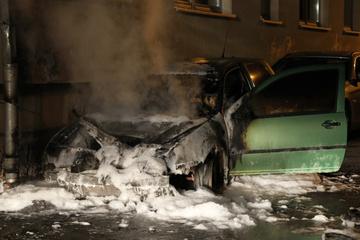 Tausende Autos in Hessen beschädigt oder angezündet