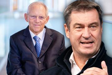 Wegen Merkel: Söder richtet deutliche Worte an Schäuble