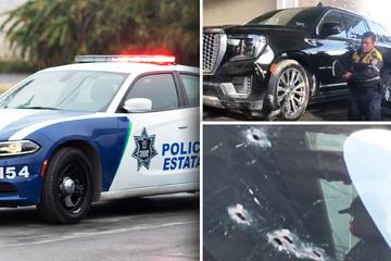 Tödliche Schießerei am Flughafen: Motorrad- und SUV-Fahrer feuern aufeinander!
