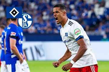 HSV siegt nach packendem Fight zum Zweitliga-Auftakt gegen Schalke 04