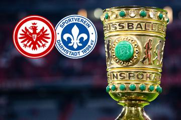 DFB-Pokal: Eintracht Frankfurt und Darmstadt 98 starten gegen diese Gegner