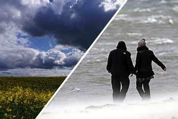 Stürmisches Wetter im Norden: So ungemütlich wird es in den kommenden Tagen