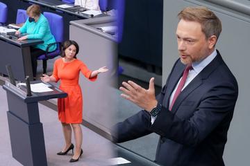 """Baerbock und Lindner loben Merkel: """"Sie haben sich große Verdienste erworben"""""""