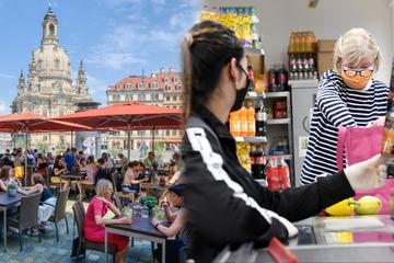 Dresden verschärft die Regeln: Masken und Kontaktbeschränkungen - Das gilt ab morgen wieder