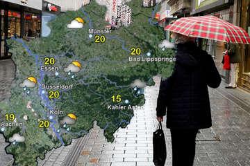Wochenbeginn wird wenig sommerlich: Schauer und teils starke Gewitter in NRW