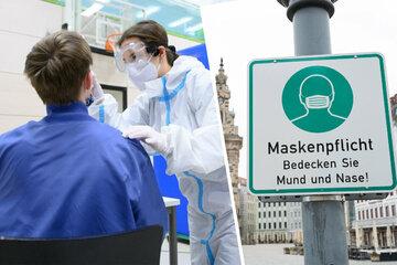 Sachsen lockert Testpflicht an Schulen und Kitas, Maskenpflicht im Freien fällt