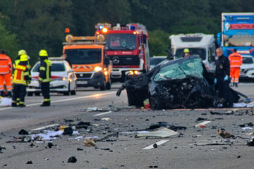 Unfall A5: Nach Falschfahrer-Unfall auf A5: Schwerverletzte (beide 19) außer Lebensgefahr