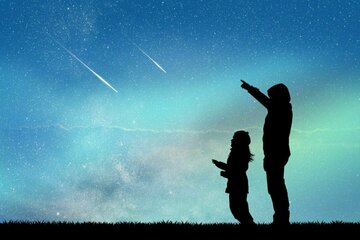 Sternschnuppen: Perseiden: Pro Stunde kann man 10 bis 30 Sternschnuppen heute sehen!