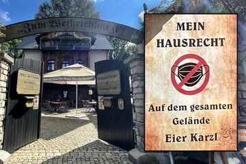 Corona-Protest im Erzgebirge: Hier herrscht Maskenverbot!