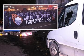"""Berlin: """"Köpi-Platz"""": Verletzte Polizisten und pure Zerstörung nach linken Krawallen"""