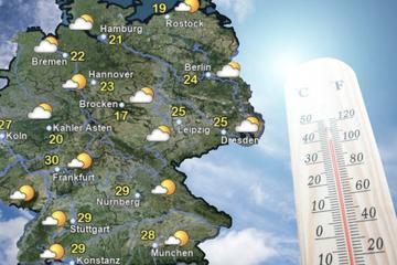 Tropische Hitze kommt nach Deutschland: Bis zu 35 Grad nächste Woche!