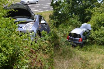 Nissan landet in Hoyerswerda tief im Busch: Was war denn da los?