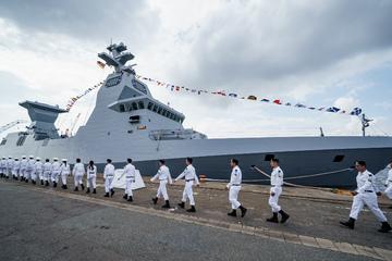 Umstrittene Rüstungslieferung: Zwei weitere Kriegsschiffe an Israel übergeben