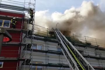 Köln: Feuer in Köln-Buchforst: Anwohner sollen Fenster geschlossen halten