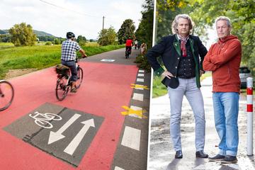 Anwohner wollen gegen die erste Fahrradstraße klagen