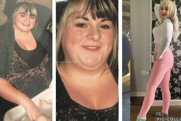 """Single mom hatches a """"ridiculously fun"""" plan to drop over 150 pounds in just months"""