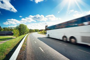 Linienbus mit Schulkindern an Bord fängt plötzlich Feuer