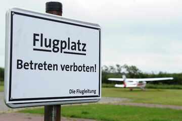 Aus diesem traurigen Grund ist der Flughafen Langeoog gesperrt