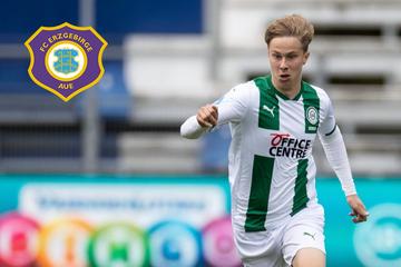 FC Erzgebirge Aue verpflichtet Offensivspieler Sam Schreck vom FC Groningen