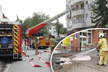 Dresden: Mit Zigarette eingeschlafen: Feuerwehr verhindert Schlimmeres