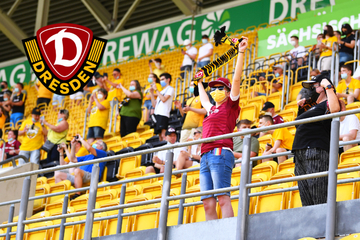 Dynamos erster Schritt: Knapp 200 Fans im Rudolf-Harbig-Stadion!