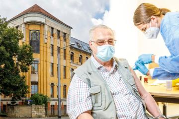 Dresden: Riesen-Ansturm auf Impfstation im Sozialamt: Dresdner sind begeistert