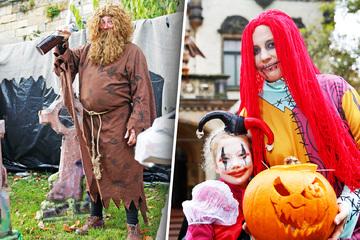 Dresden: Gruselgarten öffnet: In dieser Villa steht Halloween vor der Tür