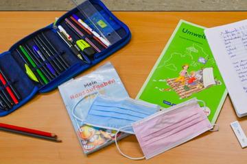 Maskenpflicht im Unterricht entfällt an Bayerns Grundschulen