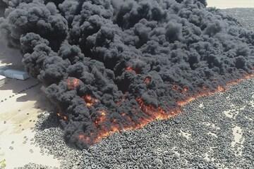 Brennende Reifen in Kuwait: Klimakämpfer und Verschwörer fallen gleichermaßen auf Video rein