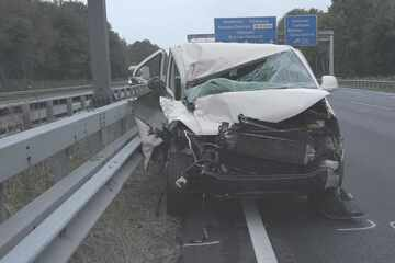 Unfall A1: Tödlicher Unfall auf der A1! Mann steigt aus und wird von Auto erfasst