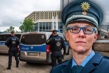 Chemnitz: Polizei verstärkt Präsenz: Warum ist die Chemnitzer City wieder Kriminalitäts-Schwerpunkt?