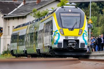 Bahnstrecke Leipzig-Chemnitz: Nächster Schritt für die Elektrifizierung ist getan