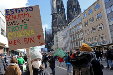 Riesiger Andrang bei Klima-Demo in Köln: 25.000 Teilnehmer bei Fridays for Future