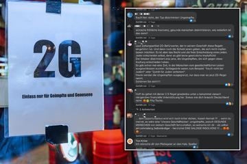Wegen 2G-Regel: Ladenbesitzer erhält Morddrohung