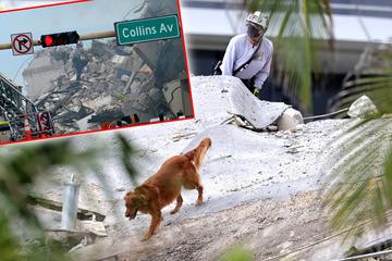 Nach Miami-Tragödie: Fieberhafte Suche nach Vermissten geht weiter